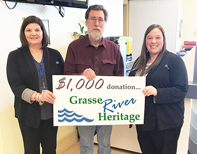 SeaComm Supports Grasse River Heritage