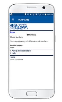 SeaComm Mobile Branch Text