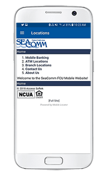 SeaComm Mobile Branch Locations